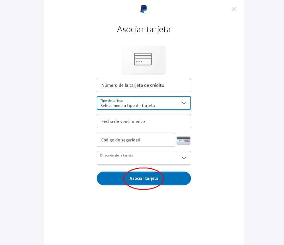 verificar cuenta paypal con vcc