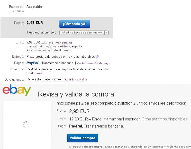 comprar ebay paypal