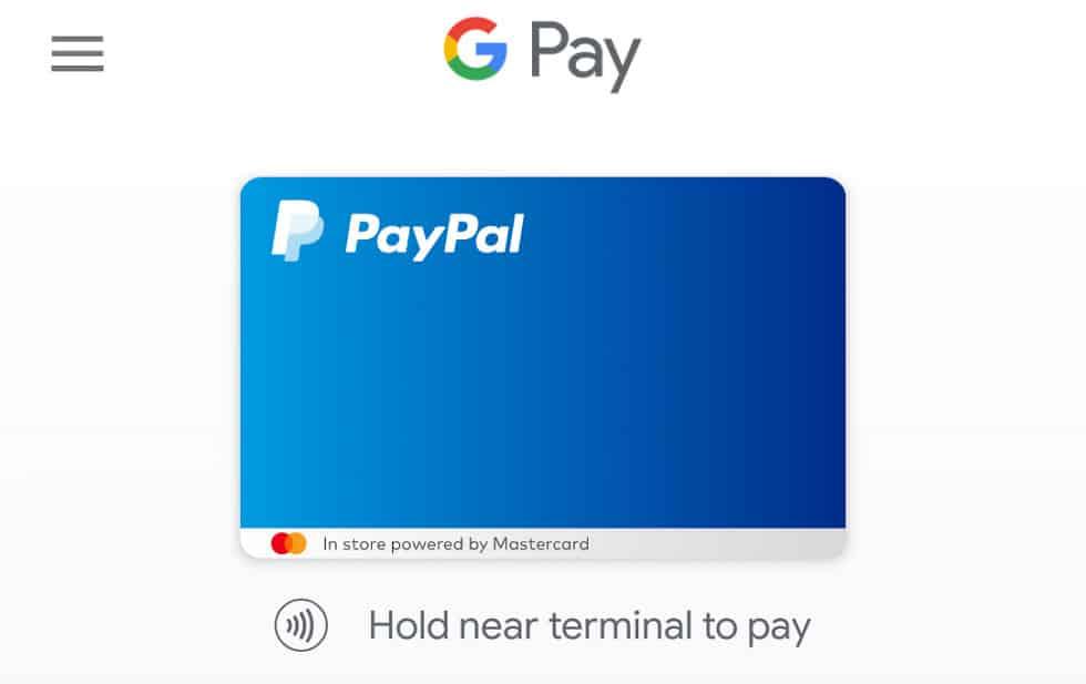 pagar paypal google play